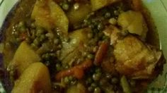 Nutmeg flavors rabbit, potatoes, and carrots in this traditional Maltese dish.