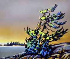 The Spoken Forest by Jerzy Werbel, Acrylic on Canvas, Painting Landscape Paintings, Watercolor Paintings, Landscapes, Acrylic Paintings, Oil Paintings, Paint My Photo, Canadian Artists, Tree Art, Illustration Art
