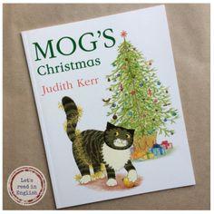 MOG'S CHRISTMAS by Judith Kerr. Polecając lektury w bożonarodzeniowym klimacie, nie wyobrażam sobie nie wspomnieć świątecznych perypetii kotki MOG, znanej już chyba wszystkim młodszym i starszym czytelnikom. Jeśli jeszcze nie mieliście okazji zaprzyjaźnić się z tą sympatyczną i roztargnioną kicią, to czym prędzej wypada to nadrobić!