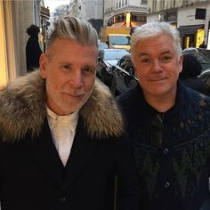 @jpesko captured this moment with @timblanks on the rue Saint-Honoré. cc: @farfetch (at Rue Saint-Honoré)