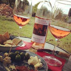 #Springtime in Texas wine country @Becker Vineyards 2012 Provençal #Mourvedre Rose #txwine A delight! - @Russ Kane- #webstagram