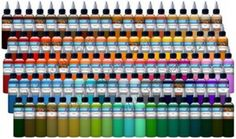 Authentic Intenze Tattoo Ink 1oz Bottles in Color of Your Choice Made in USA | eBay