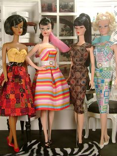 Silkstone Barbie Beauties