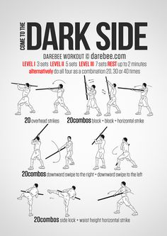 Dark Side Workout