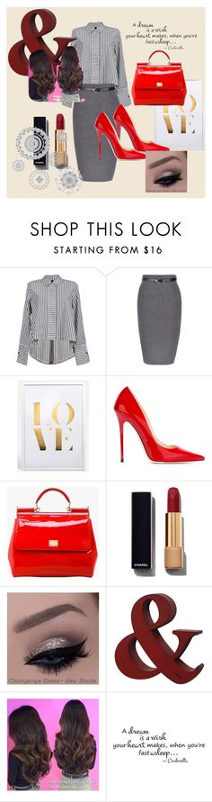 """""""Just be Happy"""" by dzenita-219 on Polyvore featuring Jimmy Choo, Dolce&Gabbana, Chanel, WallPops, women's clothing, women's fashion, women, female, woman and misses"""