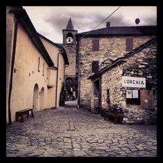 Il borgo minerario di #Corchia (#Berceto, #Parma)