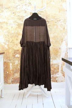 CASEY CASEY silk gauze dress