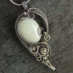 Selena - White Beryllium and silver | by Samantha_Braund