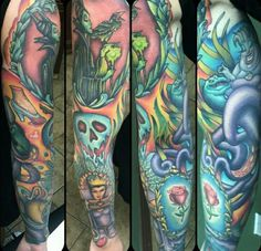 Villain sleeve