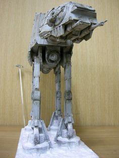 Imperial Walker, At At Walker, Star Wars Vehicles, Imperial Army, Star Wars Images, Love Mom, Star Wars Art, Scale Models, Starwars