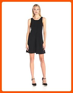 BCBGeneration Women's Double-Layer Dress, Black, Medium - All about women (*Amazon Partner-Link)