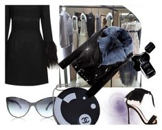 """Ready for Thursday :)"" by ajiyfun ❤ liked on Polyvore featuring Topshop, Gianvito Rossi, Chanel and La Bête"