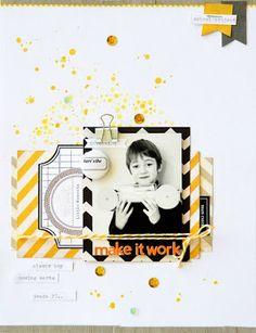 Life. Paper. Scrapbook. : August Colour Challenge - Leanne