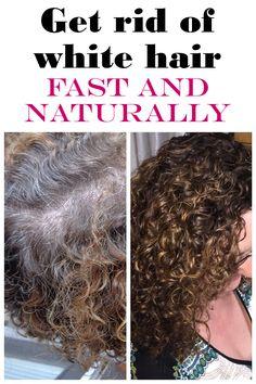 7 ways to get rid of white hair