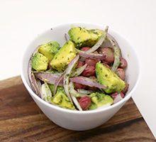 Torta de ahuyama Ceviche, Frijoles, Sprouts, Potato Salad, Potatoes, Vegetables, Ethnic Recipes, Food, Pork Chops