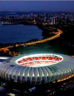 Beira Rio stadium, Porto Alegre, Rio Grande do Sul,  Brazil - 2014 FIFA World Cup   CALDEIRÃO DO DIABO - DE IDOLATRIA