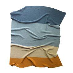 modern heirloom baby blanket - weld - koko's nest