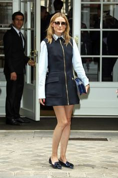 ea81dd24ccea Olivia Palermo s Street Style Dior Couture