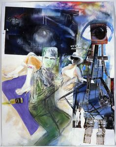 Douglas Kolk - We're all monsters Frankie - Contemporary Art Hermitage Museum, Saatchi Gallery, Royal Academy Of Arts, Galleries In London, Mirror Art, Artist Profile, Gcse Art, American Art, Amazing Art