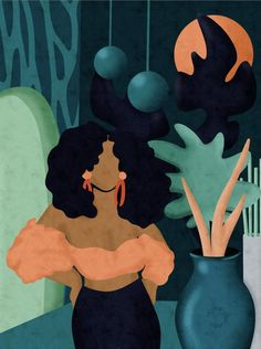 Black Art Painting, Black Artwork, Afro Painting, Black Love Art, Black Girl Art, Arte Latina, Arte Black, Afro Art, African American Art