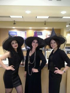 Witches at work costumes