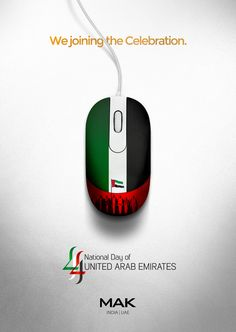 Celebrating 44th National Day of UAE