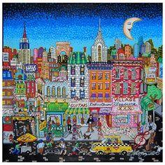 Fazzino-3d-pop-art-bleecker-street-NYC