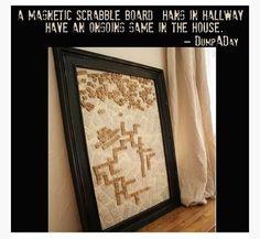 Magnetic Scrabble Board