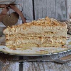 Ciasto kawowe na zimno Polish Desserts, Polish Recipes, Cookie Desserts, Yummy Treats, Delicious Desserts, Sweet Recipes, Cake Recipes, Different Cakes, Cake Cookies