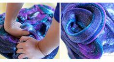 Fabriquez vous-mêmes cette incroyable glue galactique avec les enfants!