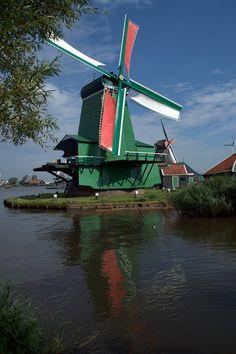 Scuola di viaggio: Zaanse Schans, l'Olanda delle cartoline
