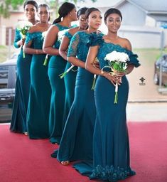 22 Photos of Stylish Bridesmaid Dresses That Are Just So Gor.- 22 Photos of Stylish Bridesmaid Dresses That Are Just So Gorgeous – The Glossychic 22 Photos of Stylish Bridesmaid Dresses That Are Just So Gorgeous - Dark Teal Bridesmaid Dresses, African Bridesmaid Dresses, Wedding Bridesmaids, Green Bridesmaids, Cheap Wedding Dress, Wedding Party Dresses, Ghana Wedding Dress, Maid Of Honour Dresses, Bride Maid Dresses