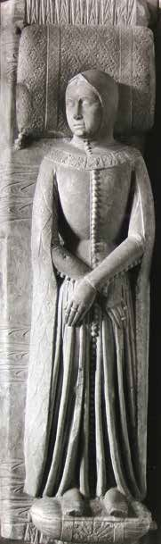 Alda d'Este, ( Ferrara,1333-1381 ) She was the daughter of  Obizzo III , Marquis of Ferrara. In 1356 she married Ludovico Gonzaga , the third captain of the people of Mantua, with whom she had two children