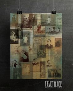Exclusive deisgns from the Elementologie® StudioCreated from vintage images and documentsPrinted on Recycled Papers Collage Background, Paper Background, Photo Collage Board, Collage Vintage, Collage Frames, Vintage Images, Great Photos, Backdrops, Creative