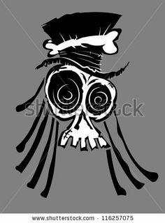 Voodoo Skull by turtleteeth, via Shutterstock