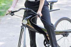 De Belgische ontwerper Pierre Lallemand heeft alle verwachtingen weer overtroffen met deze super stijlvolle Ecce Cycles 'Opus fiets.