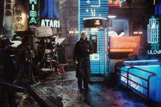 Blade Runner - filming Rutger Hauer/Roy Batty, via Flickr.