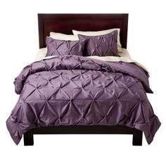 Threshold™ Pinched Pleat Duvet Cover Set   http://www.target.com/p/threshold-pinched-pleat-duvet-cover-set/-/A-14106220#?lnk=sc_qi_detaillink