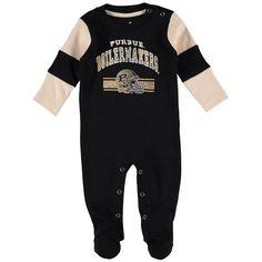 Purdue Boilermakers Newborn Team Believer Sleeper - Black - $18.99