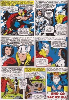 NONE BUT THEE PRINT Marvel Thor Kissing Lady Sif THOR