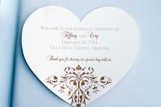 Heart shaped programs with detailed design | villasiena.cc