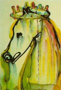 Caligula's Horse (Dali's Horses) - Salvador Dali 1971