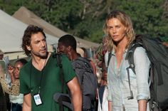 Photo : Charlize Theron et Javier Bardem dans The Last Face de Sean Penn