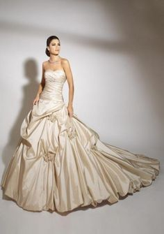 bunched wedding dress - Google Search