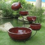 Garden fountains add a distinct element of elegance. Wall fountains are perfect for gardens, patios, or balconies. Indoor and Outdoor garden fountains and decor.