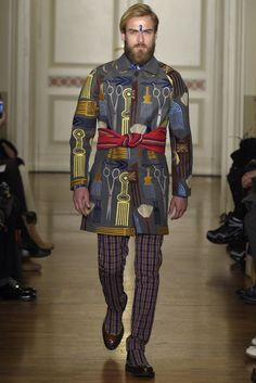 Stella Jean Fall Winter 2015 | Men's Milan Fashion Week