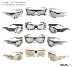 Your First Look At 'Star Wars: The Force Awakens' 3D Glasses