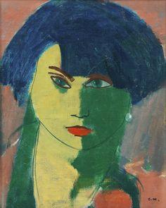 'Portrait of a woman' - Otto Mäkilä (1904–1955)