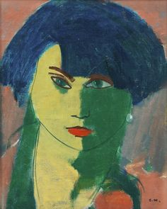 'Portrait of a woman' - Otto Mäkilä (1904–1955)