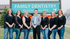 Lowman Family Dental: Meet our awesome, friendly, experienced & skilled team. To help you get a beautiful white smile for your #Wedding #HolmenWI